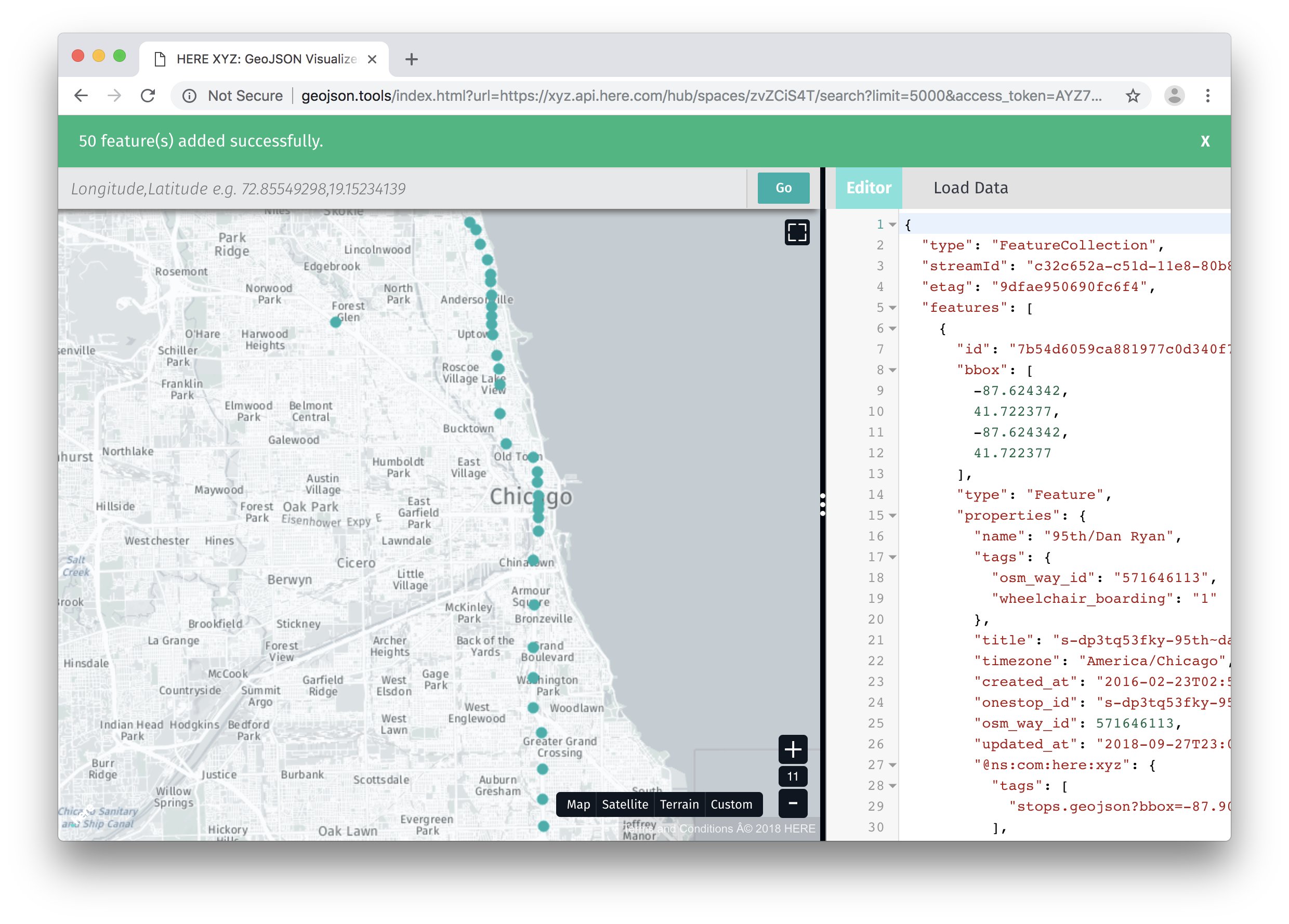 Build an Interactive Web Map of Subway Stations and Routes Showing